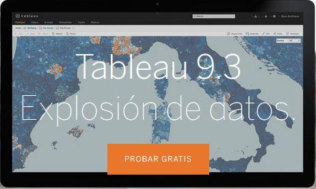 Nueva versión de Tableau 9.3