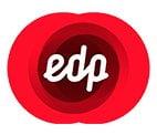 Logotipo de Edp cliente de Eutik Solutions