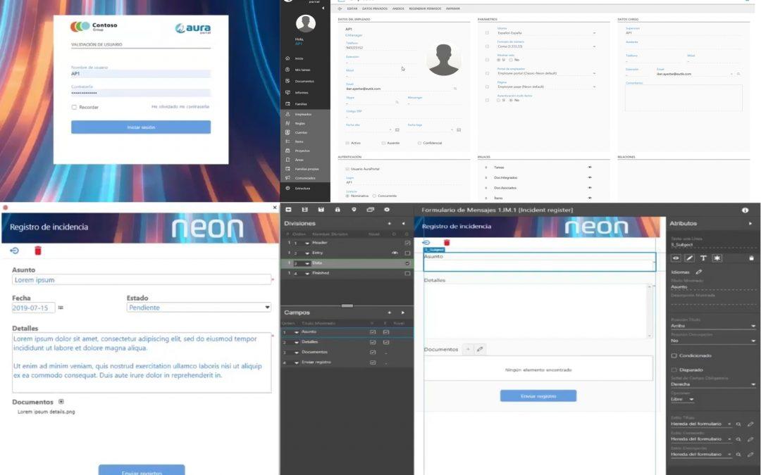 AuraPortal lanza Neon, la nueva versión de su software BPMS